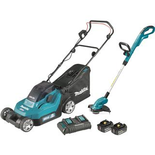 Makita Set DLM382CM2, DUR181Z 18V Li-ion